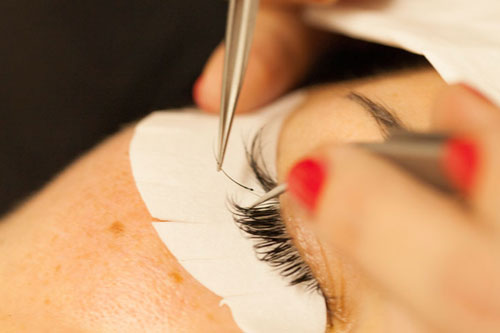 Extreme Lasches Wimpern